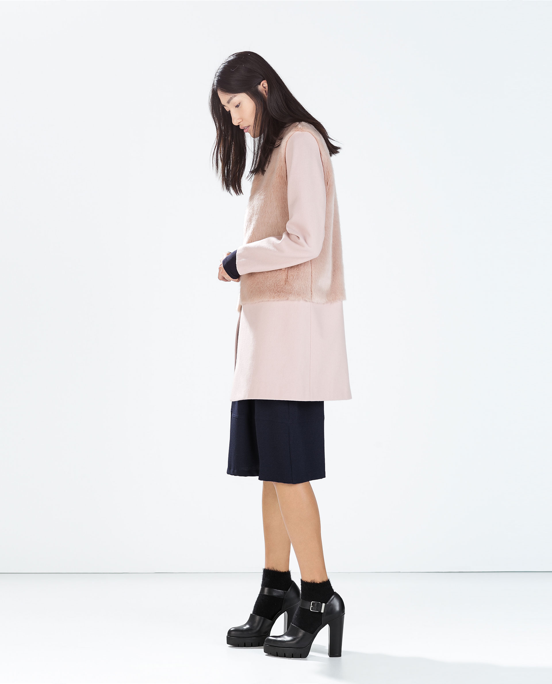 Collection Zara Pink Coat Pictures - Reikian