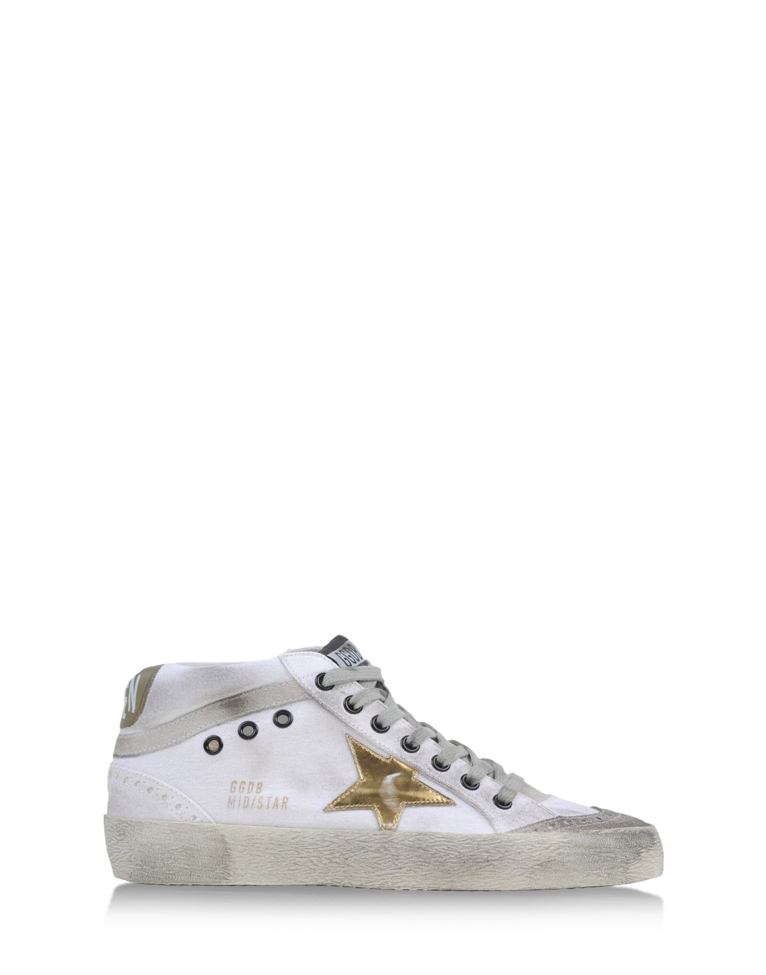 golden goose deluxe brand high tops trainers in white lyst. Black Bedroom Furniture Sets. Home Design Ideas