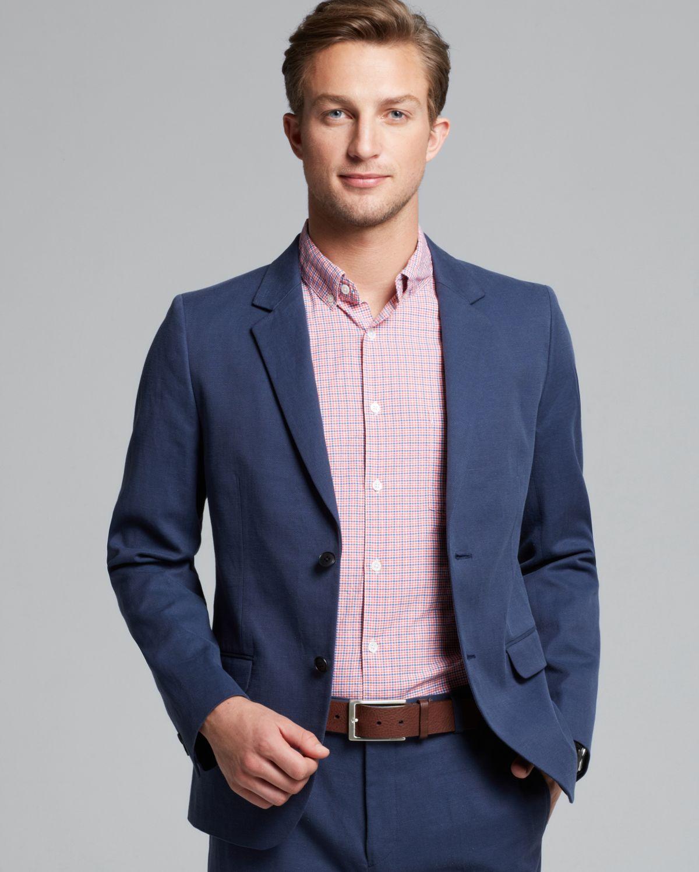 Lyst Steven Alan Oliver Twobutton Sport Coat In Blue For Men