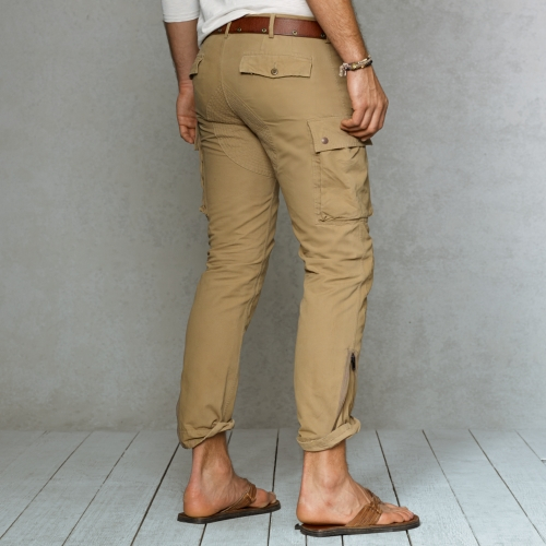 Cargo For Pant Lauren Ralph Natural Polo Straightfit Men 3jLA4q5R