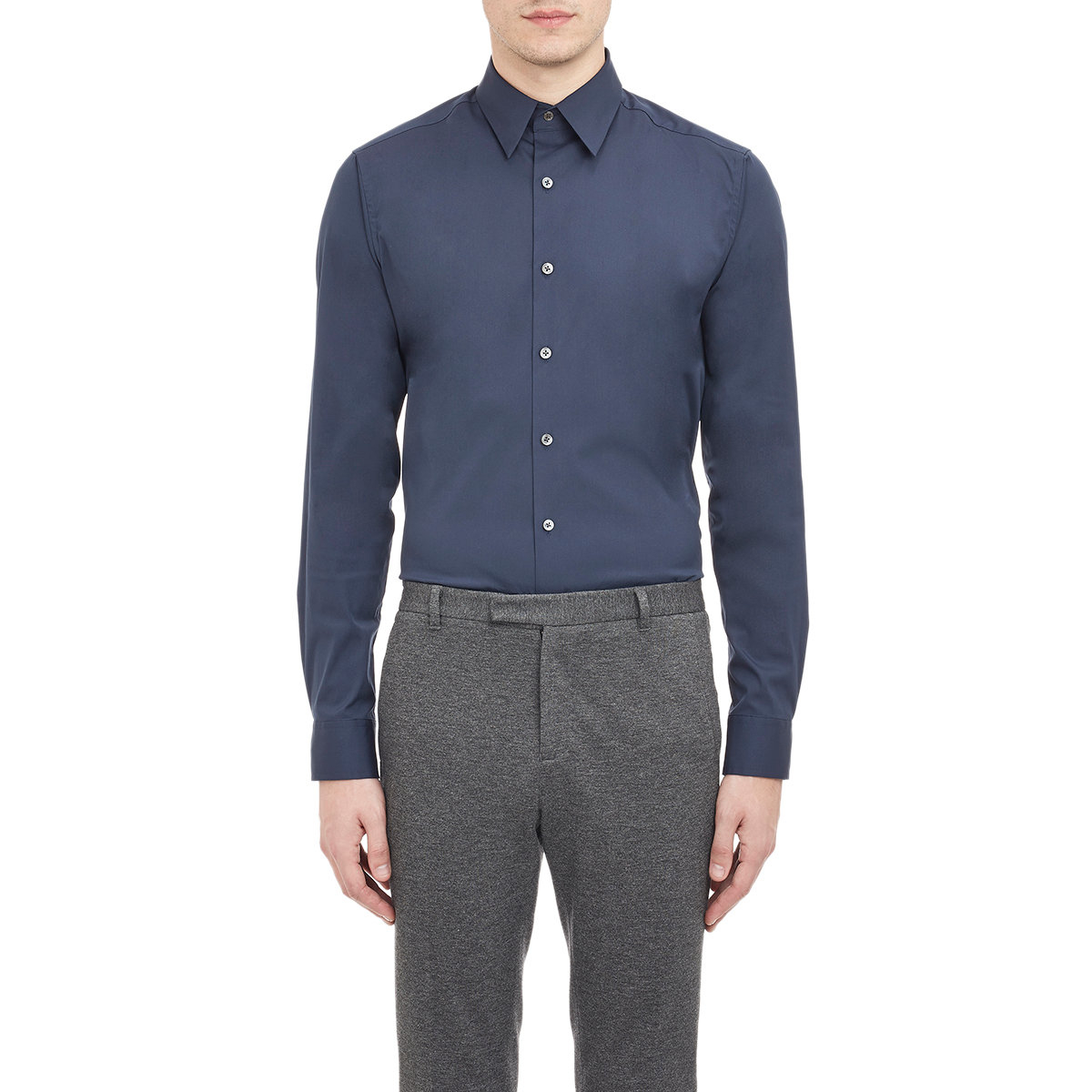 Lyst Theory Sylvain Shirt In Blue For Men