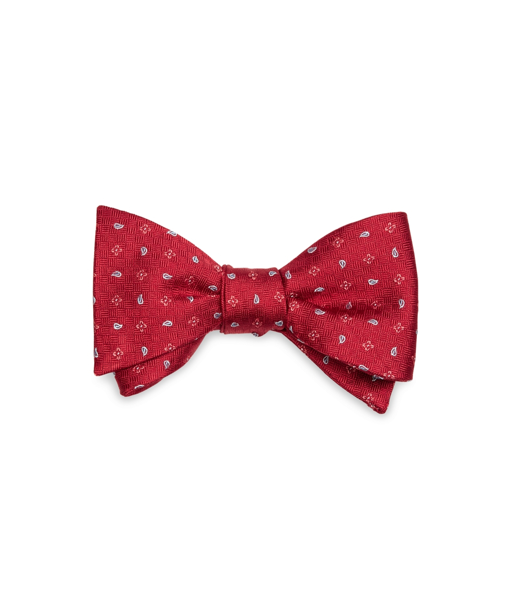 Brooks Brothers Flower And Pine Bow Tie in Red for Men | Lyst