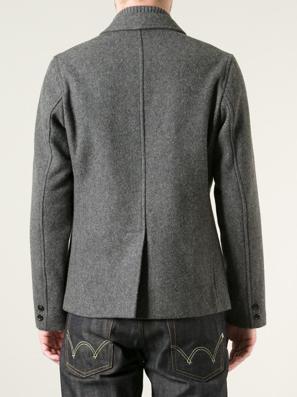 Fidelity 'Yankee' Jacket in Grey (Grey) for Men