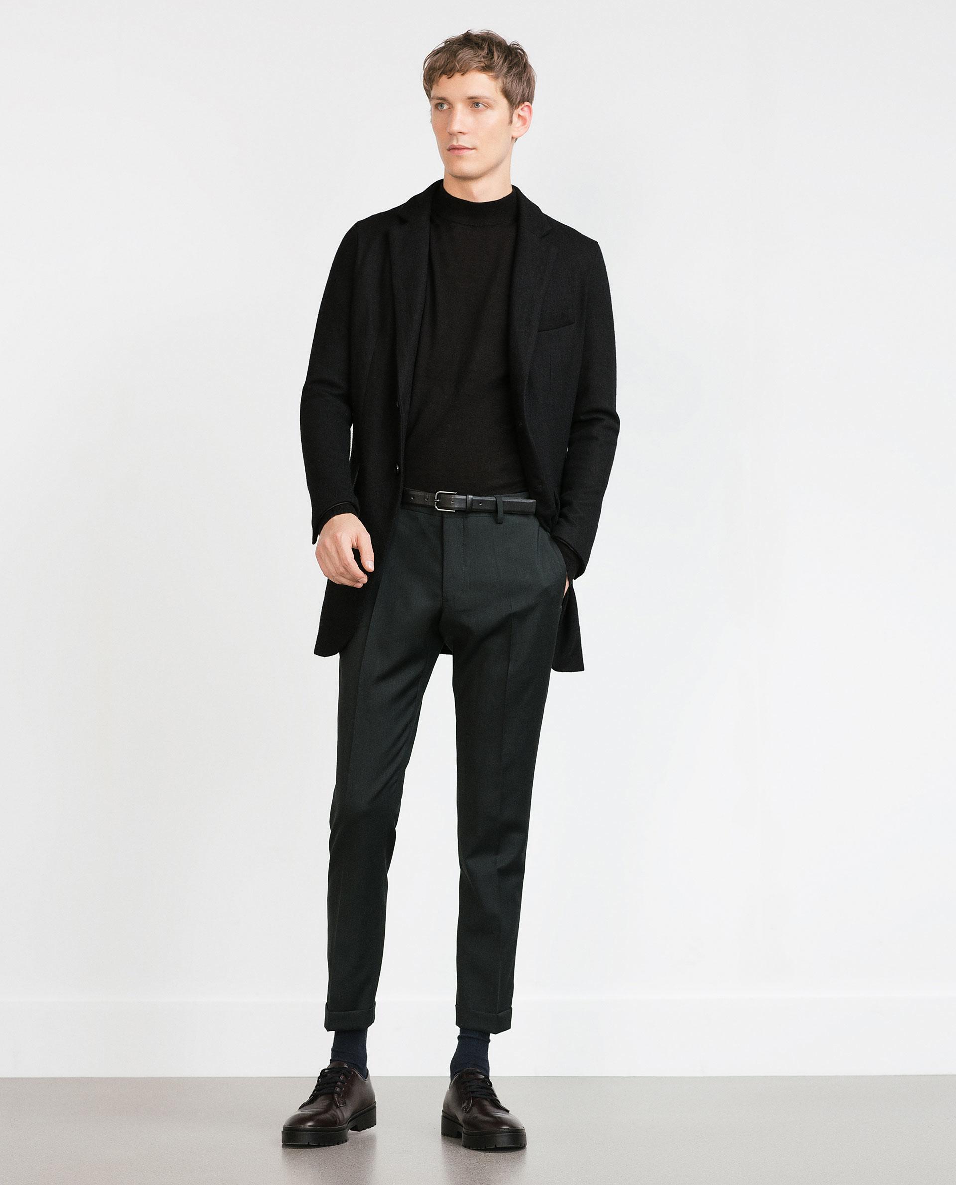 Zara Black High Neck Sweater 118