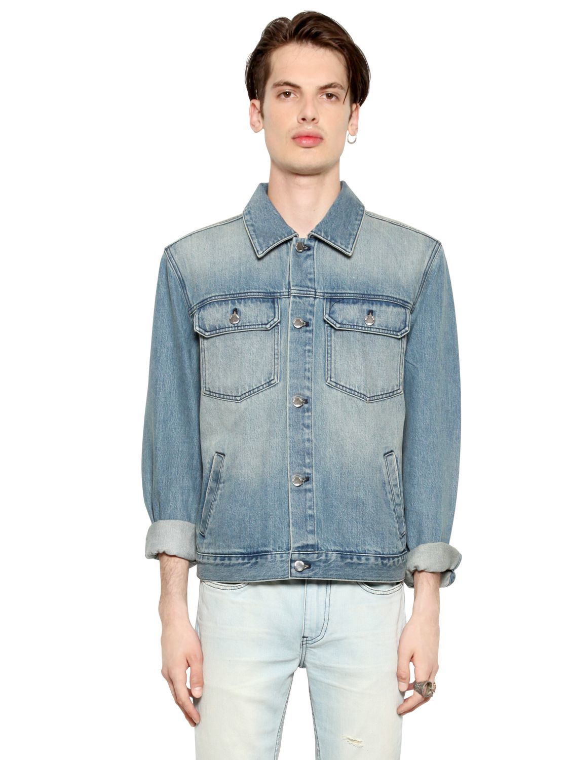 how to clean a denim jacket