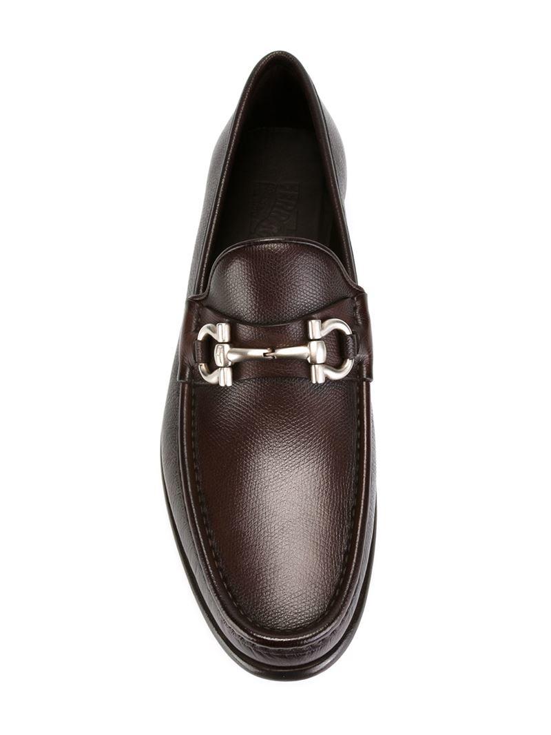 Ferragamo Mason Loafers In Brown For Men Lyst