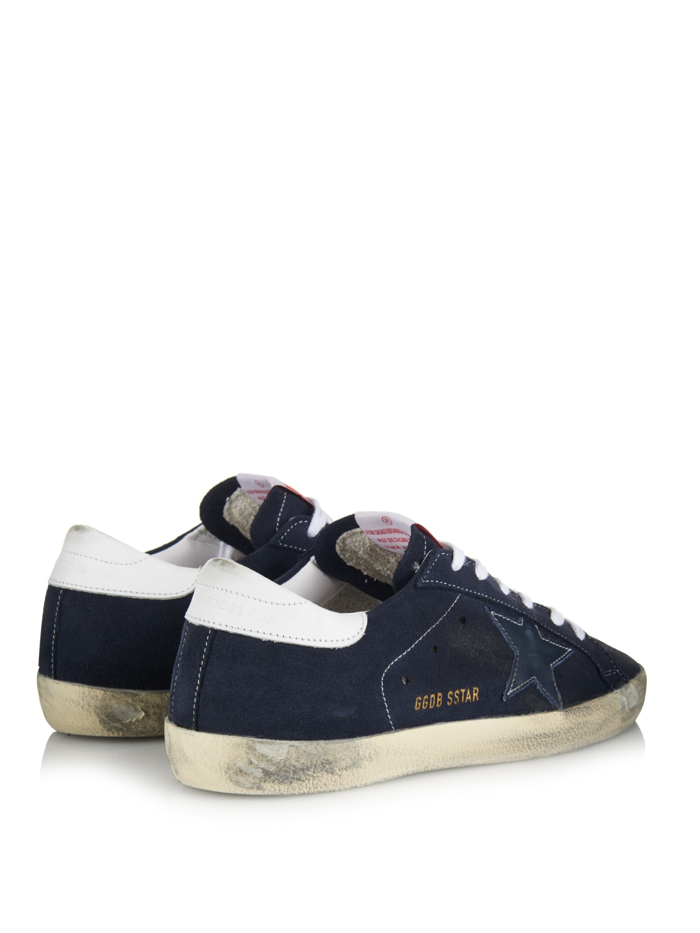 Golden Goose Deluxe Brand Superstar Suede Low Top Sneakers