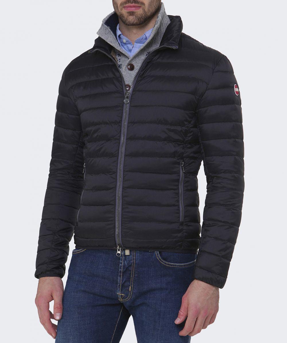 colmar light down jacket in black for men lyst. Black Bedroom Furniture Sets. Home Design Ideas