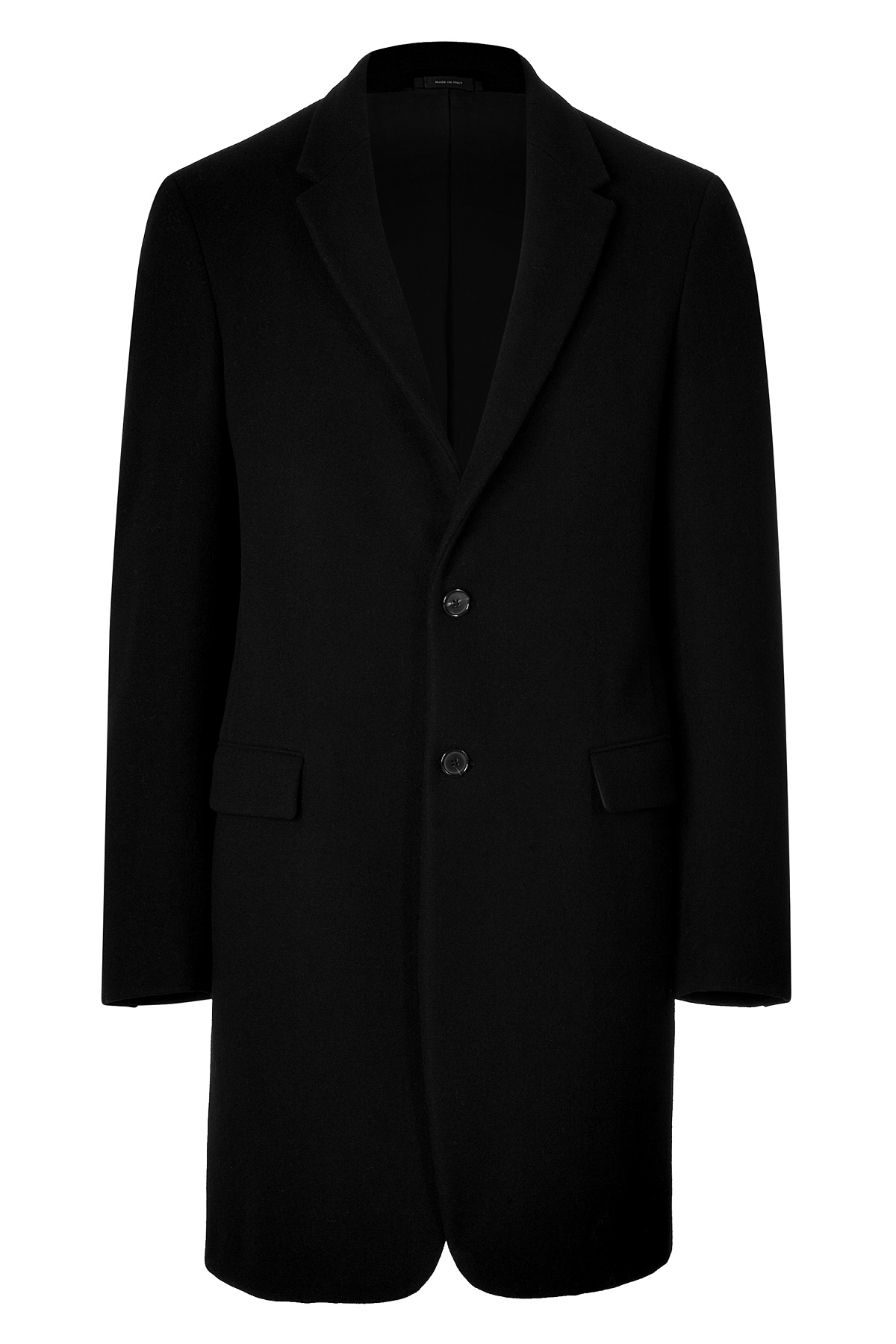 Jil sander Wool Coat in Black for Men | Lyst