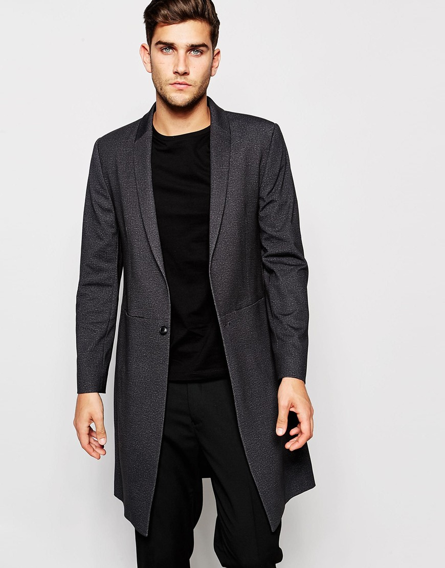Jacket by ASOS DESIGN, So good, you won't want, Fully lined, Point collar, Zip fastening, Functional pockets, Regular fit, Not too loose, not too tight. Giving you the confidence to express your individuality, ASOS DESIGN takes major trends, adding the freshest ASOS spin.