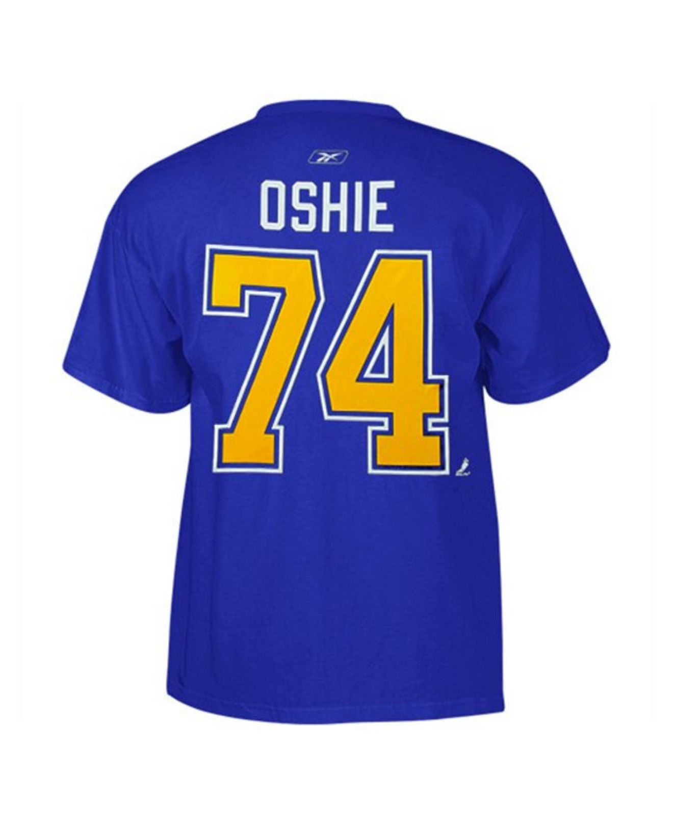 0b70af5b5cbc Lyst - Reebok Men s Short-sleeve Tj Oshie St. Louis Blues Player T ...