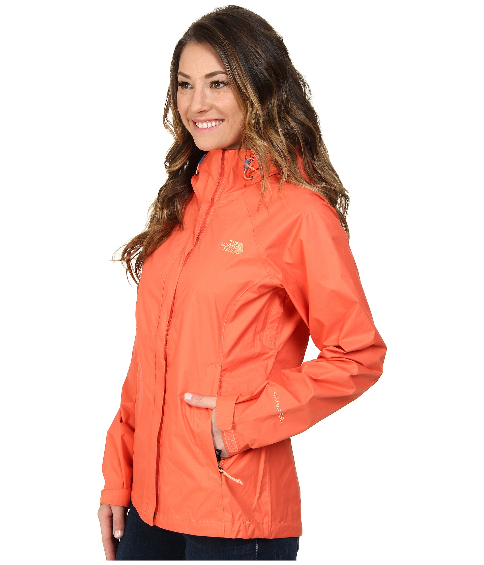 046b1259f The North Face Orange Venture Jacket