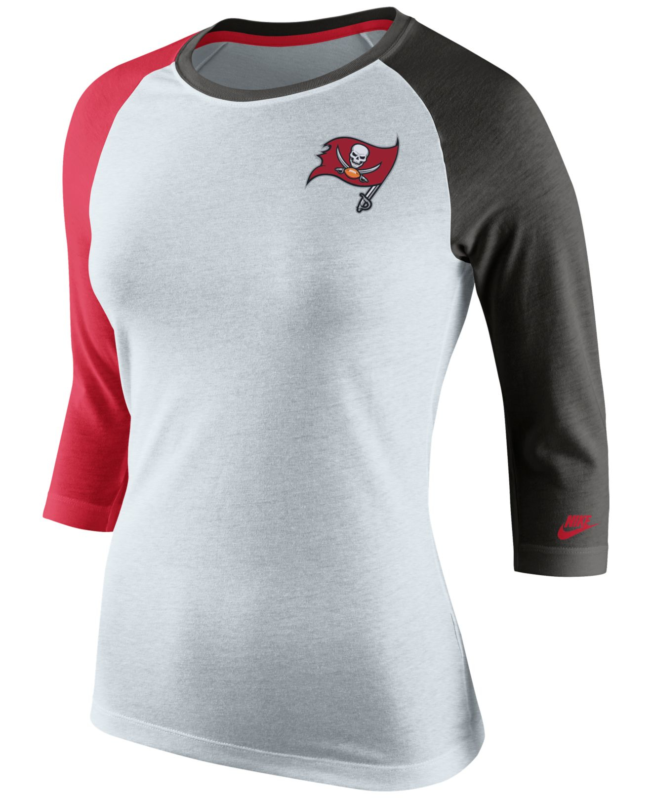 40966d57 Lyst - Nike Women's Tampa Bay Buccaneers Strong Side T-shirt in Black