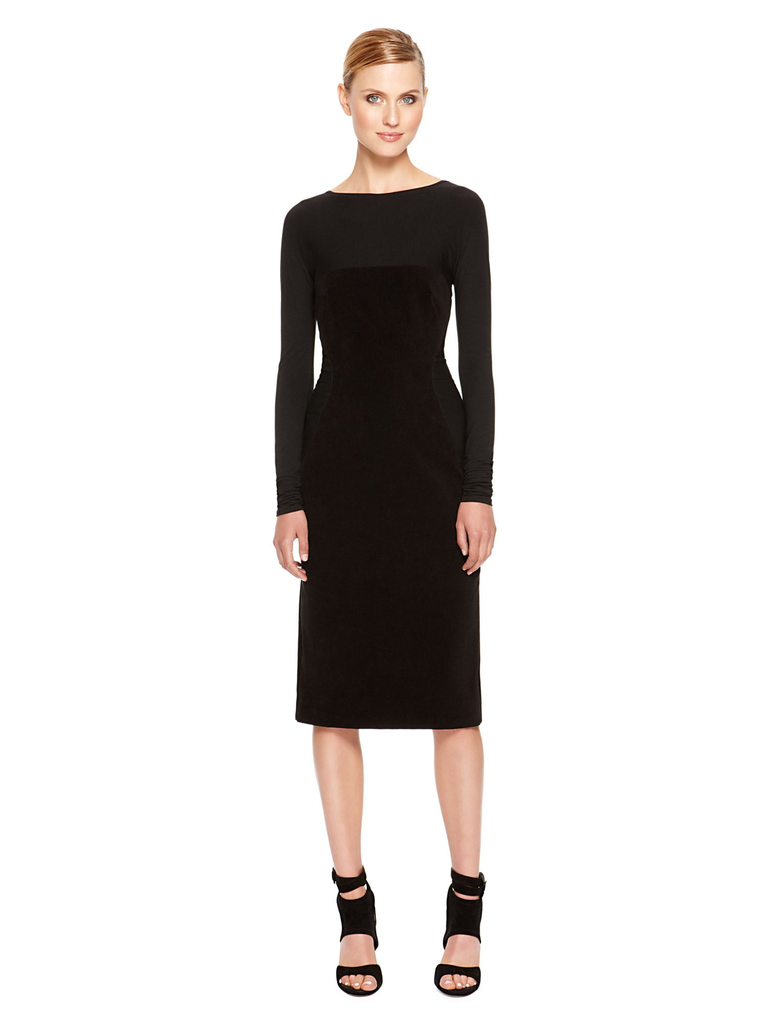 Shop long sleeves sheer dress at Neiman Marcus, where you will find free shipping on the latest in fashion from top designers.
