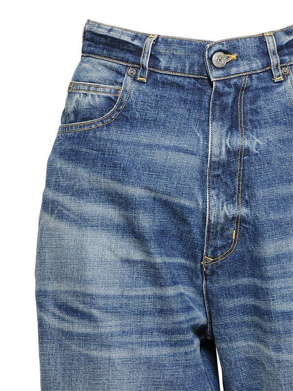 Golden Goose Deluxe Brand Boyfriend Fit Japanese Denim Jeans in Blue