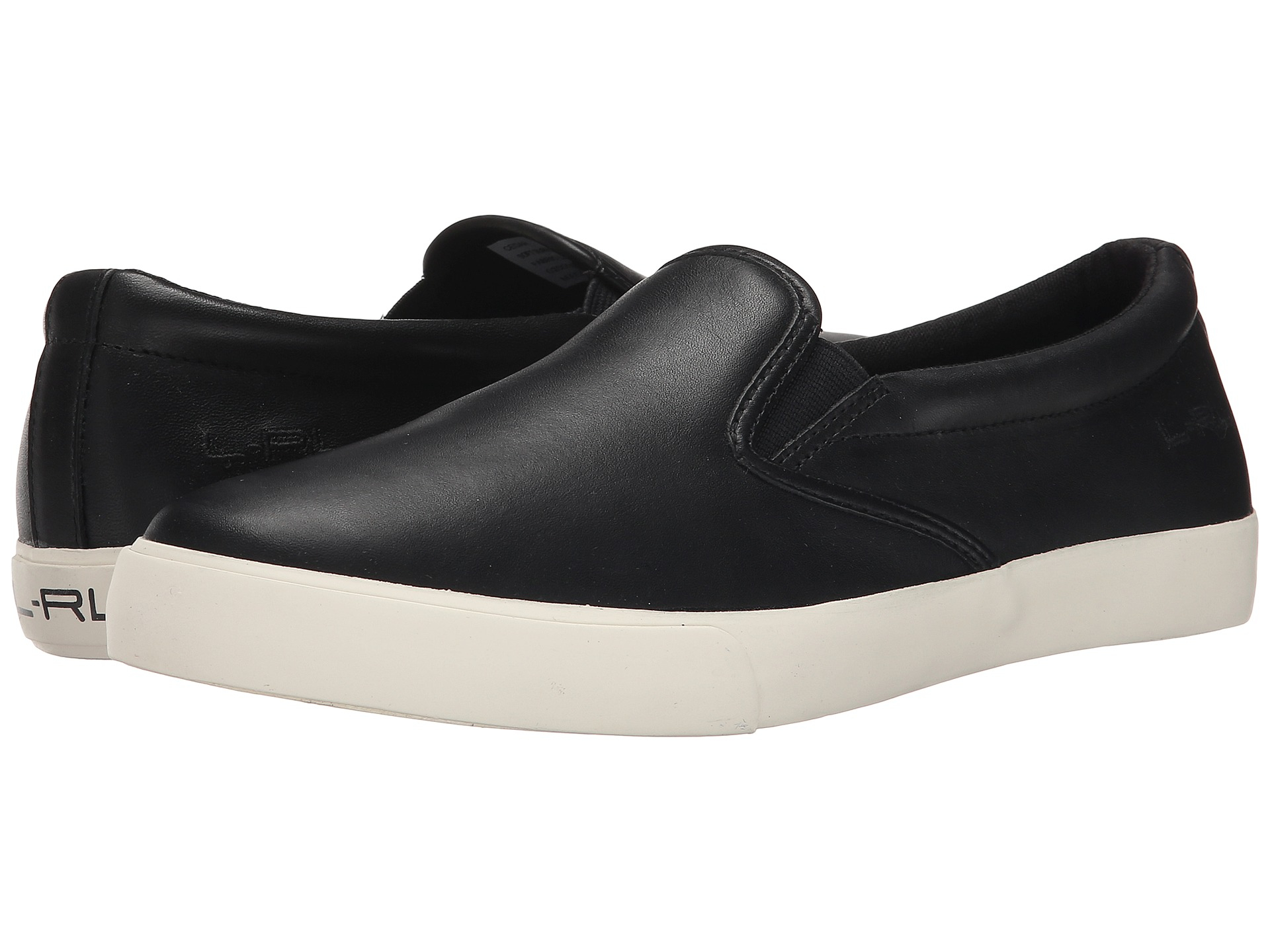 Lauren Ralph Lauren Ria Leather Slip On Sneakers vAPdgNEQZ