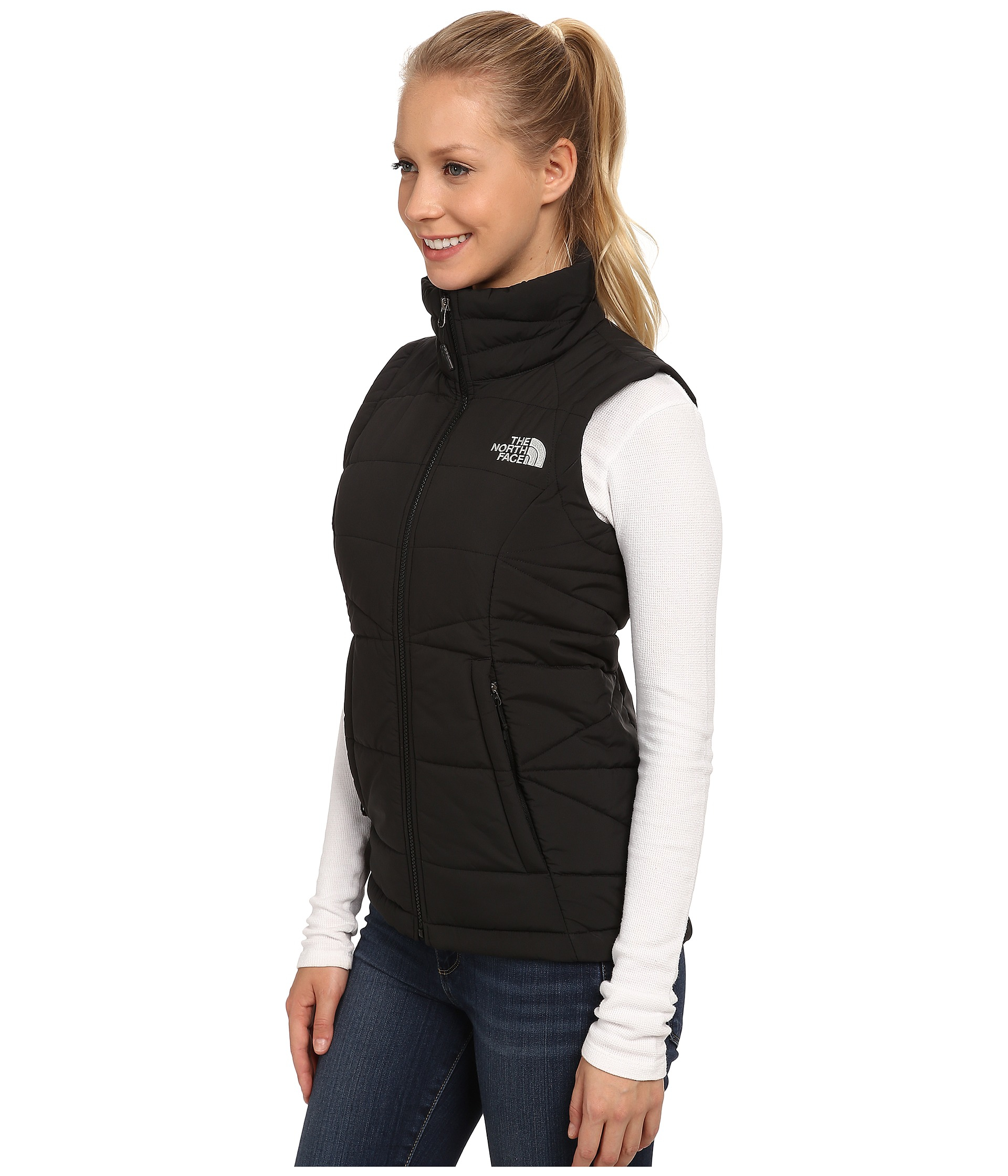 ad5a0c6e71 promo code for lyst the north face roamer vest in black bbe4a 4953a
