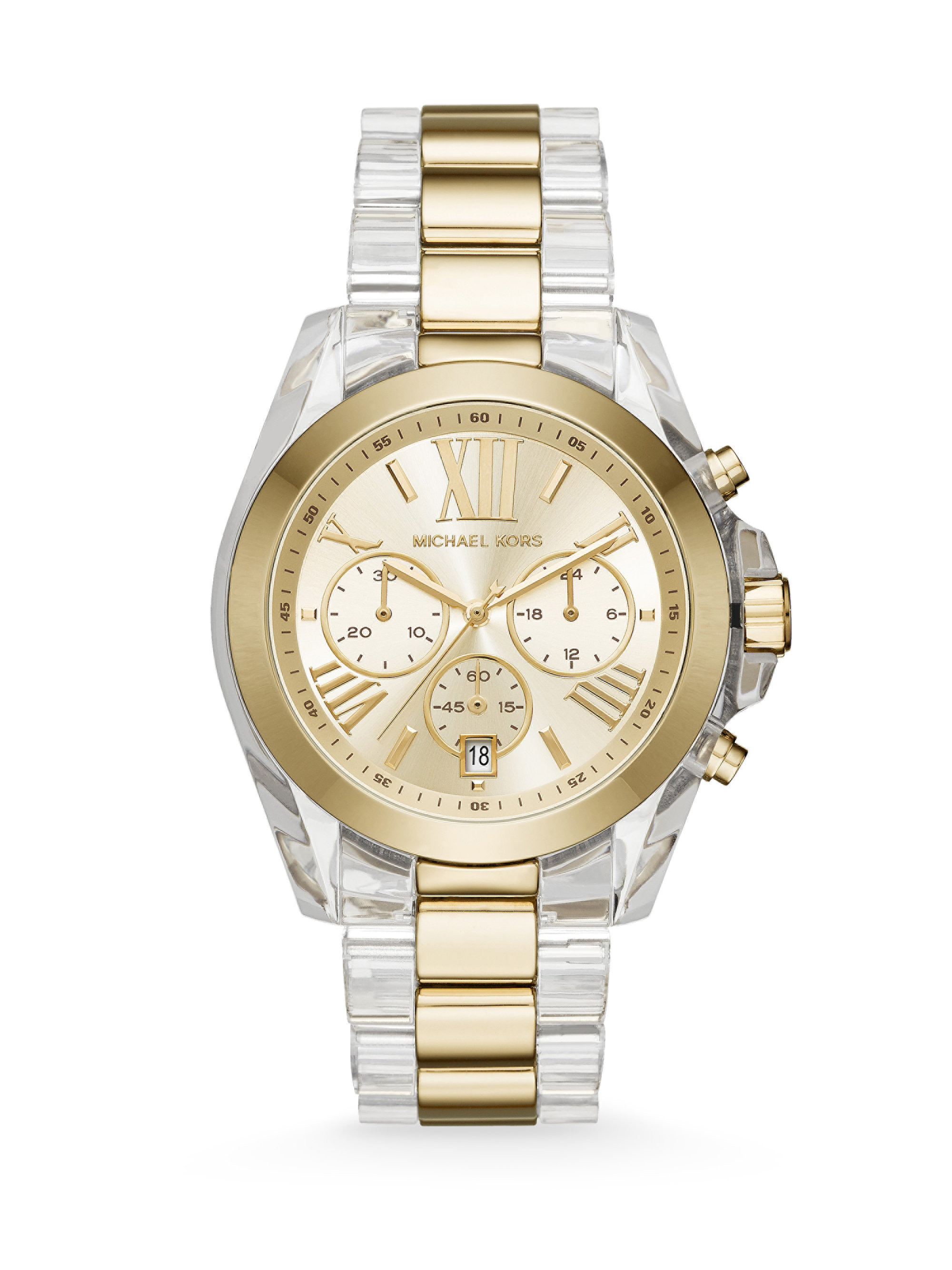 1b16f6b2084d Gallery. Previously sold at  Saks Fifth Avenue · Men s Michael Kors  Chronograph