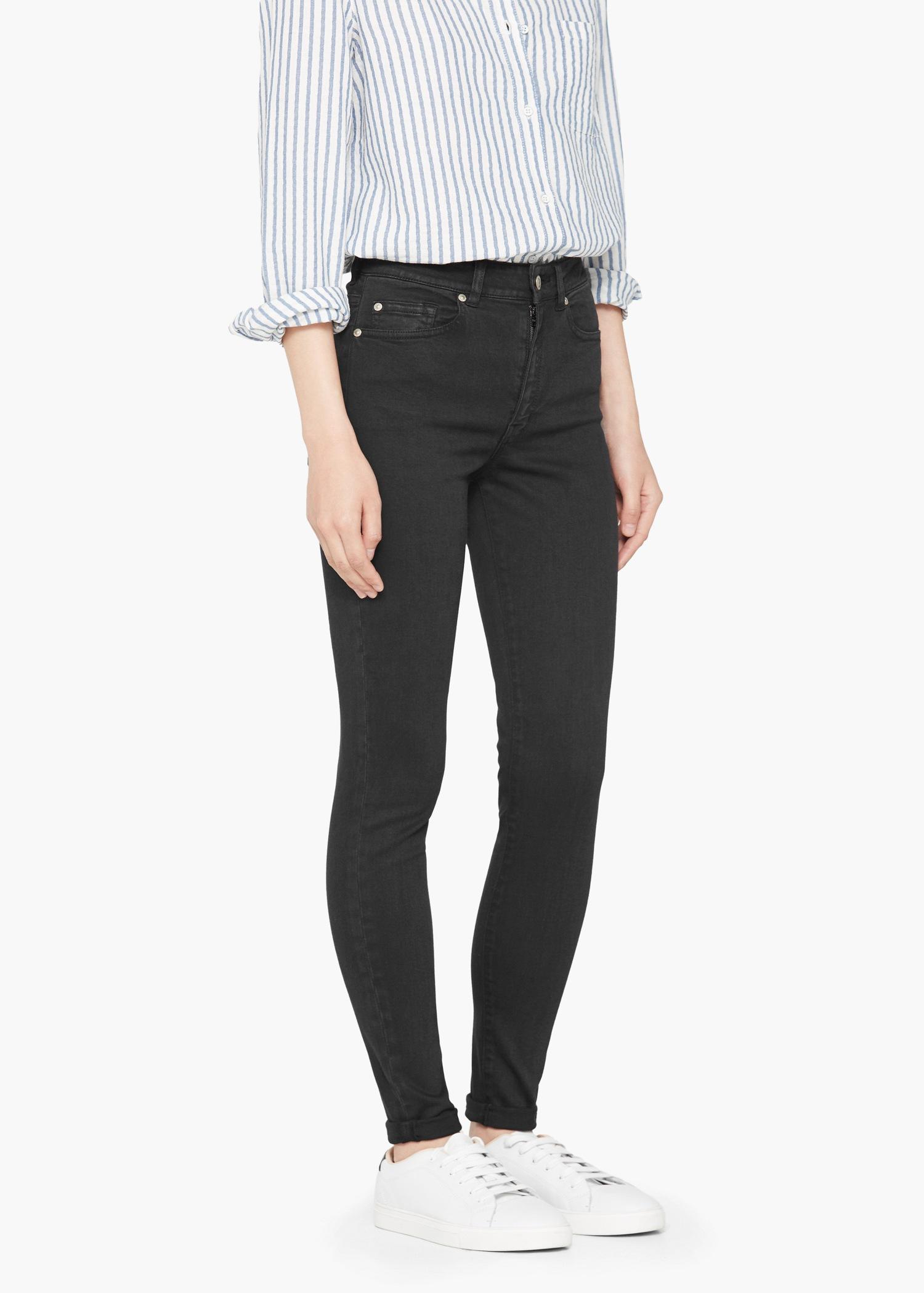 Mango grey skinny jeans
