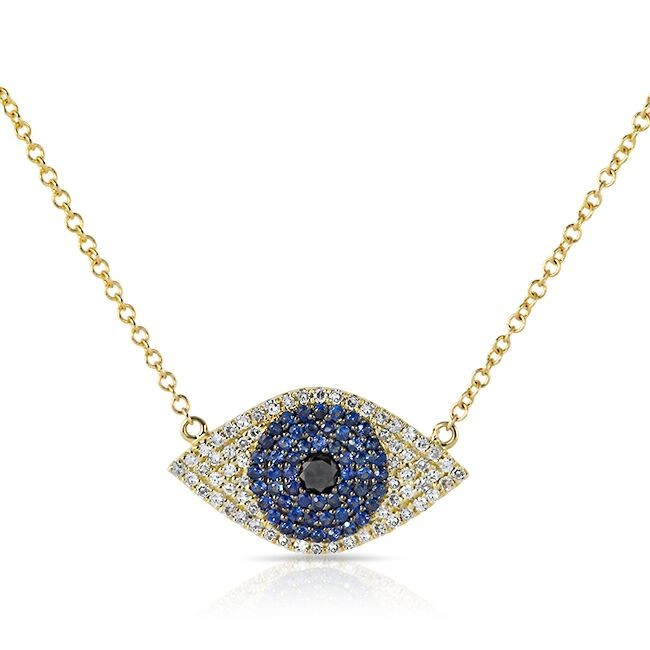 lyst anne sisteron 14kt yellow gold blue sapphire. Black Bedroom Furniture Sets. Home Design Ideas