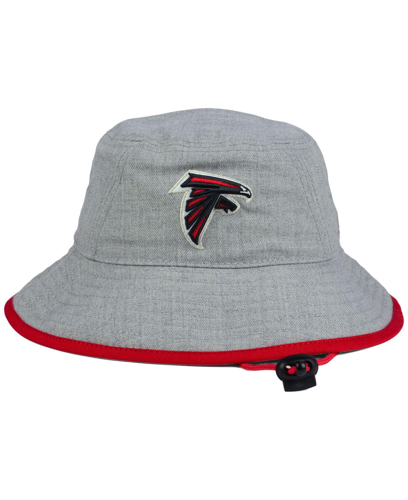 Lyst Ktz Atlanta Falcons Nfl Heather Gray Bucket Hat In For Men 1c866b9878fe
