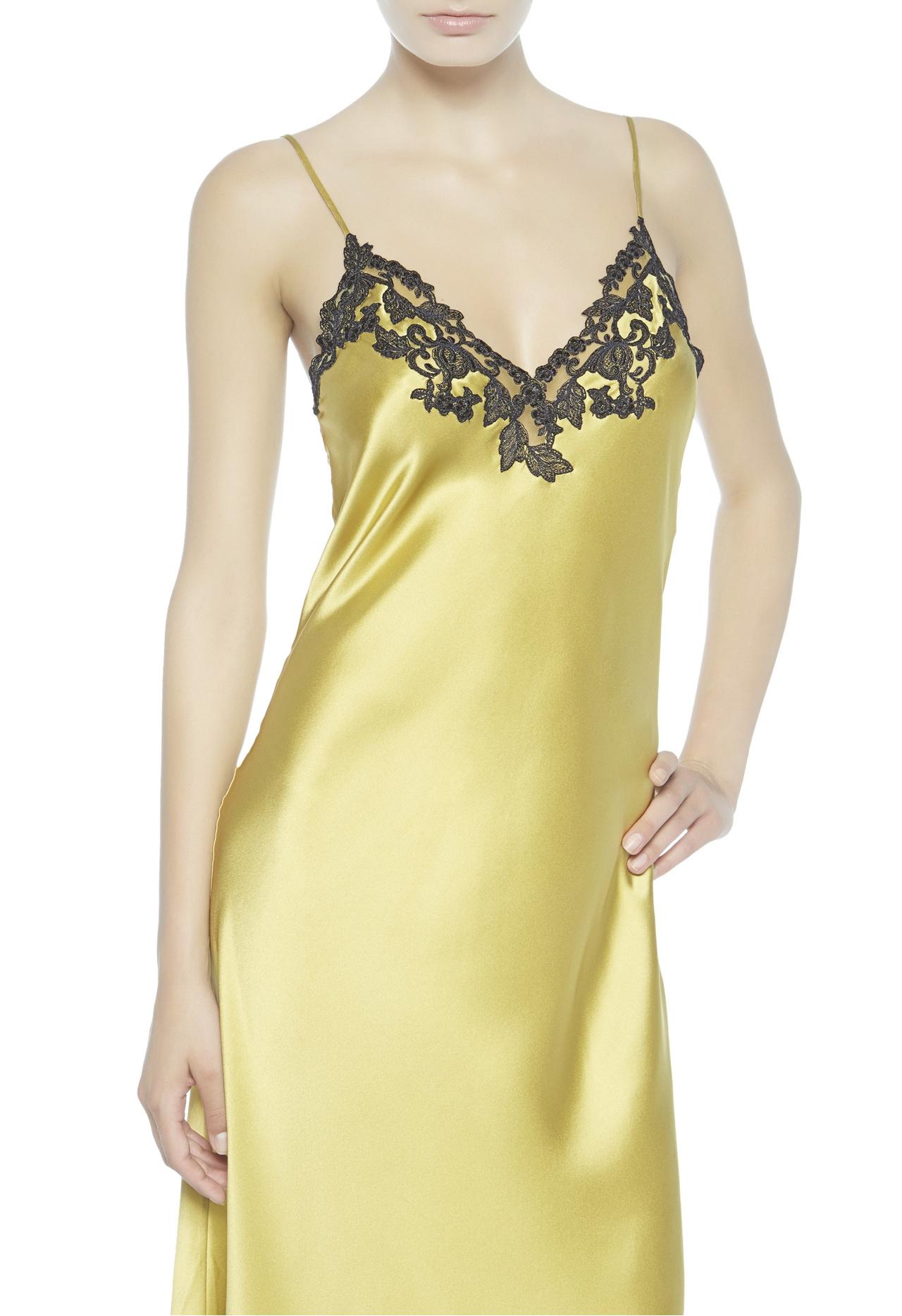 Lyst la perla maison nightgown in yellow for Lca maison