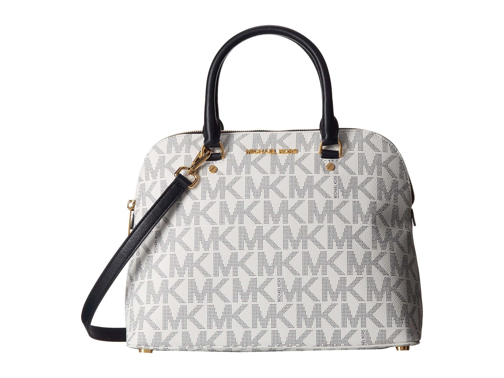 8a7fdcccb8b3 ... greece lyst michael michael kors cindy large dome satchel in blue 38291  fe31f