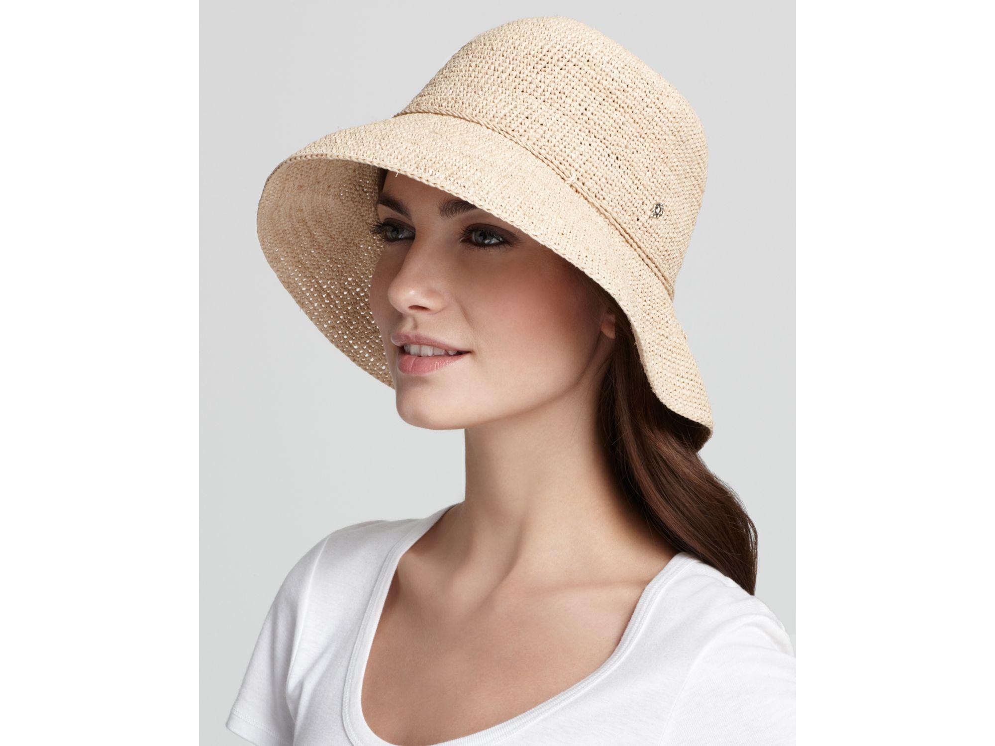 a77727317cd23 Helen Kaminski Provence 8 Raffia Hat in Natural - Lyst