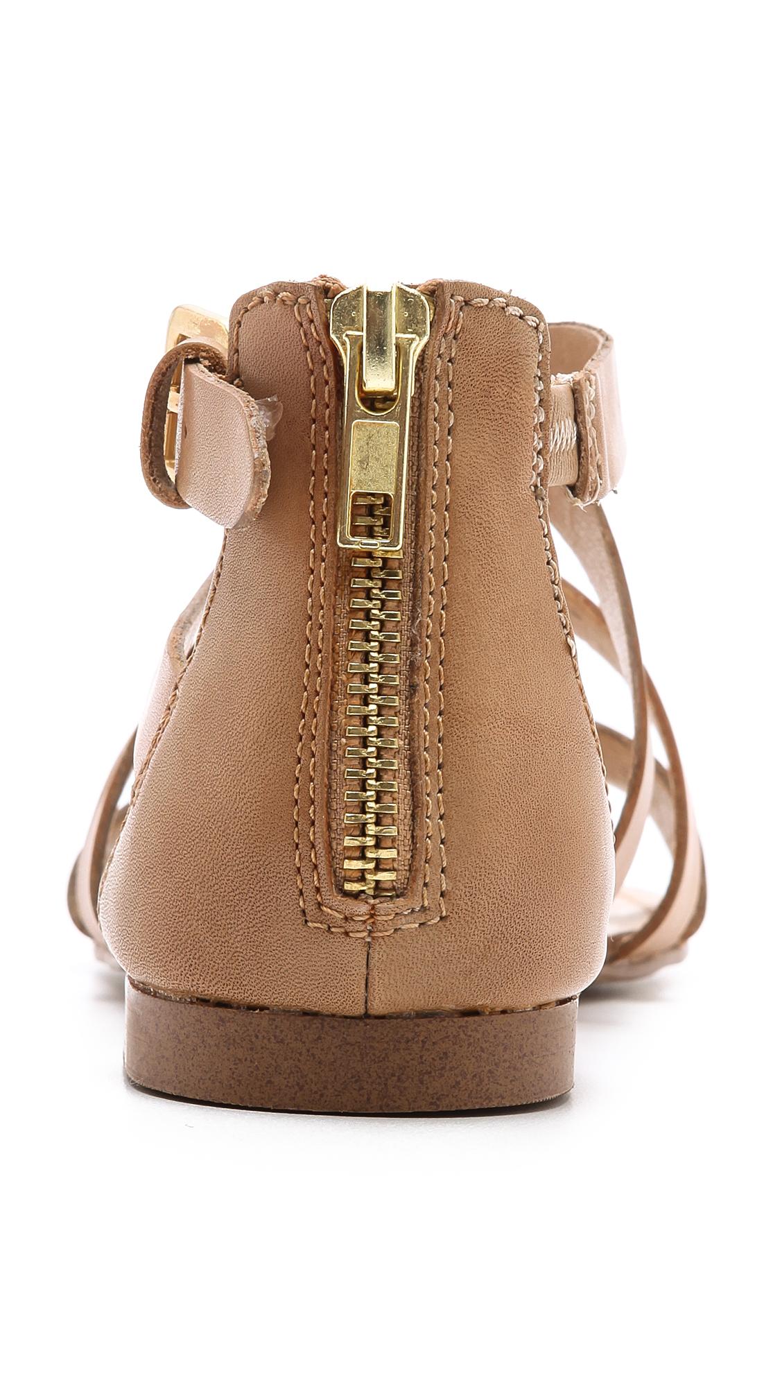 Splendid Cantina Flat Sandals In Brown Lyst