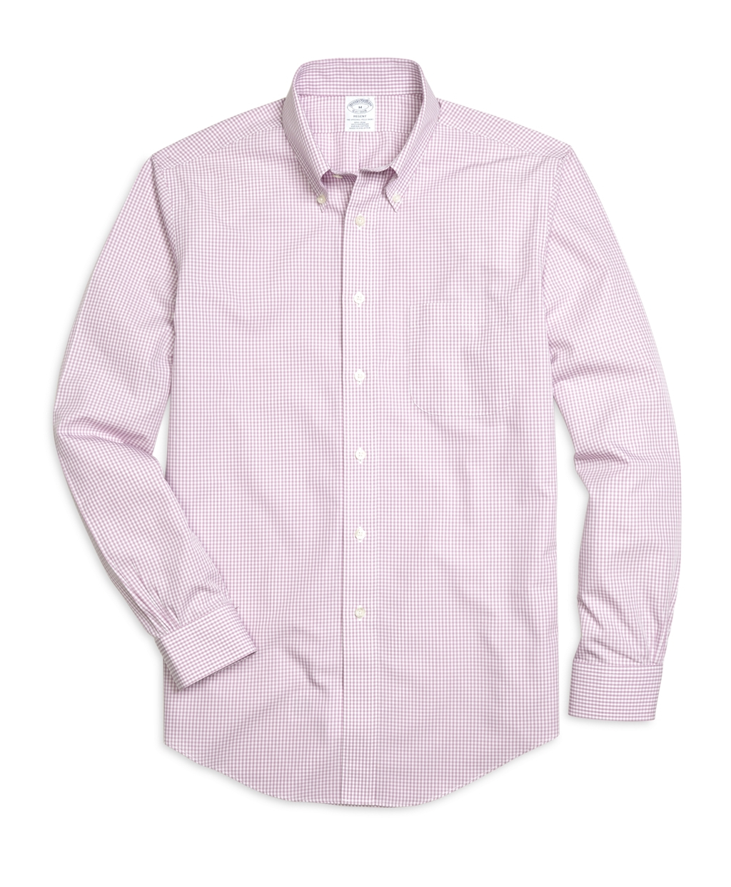 Brooks brothers non iron regent fit micro gingham sport for Brooks brothers non iron shirts review