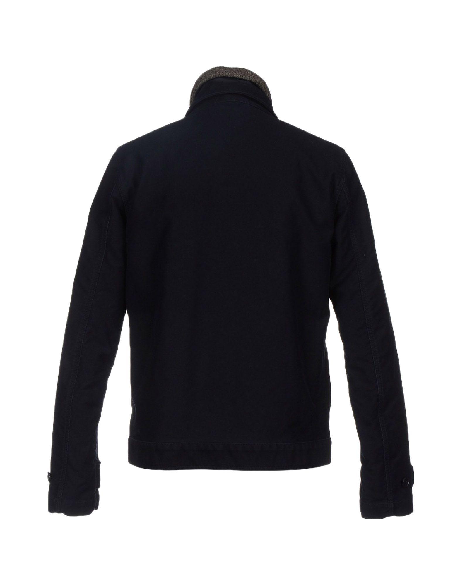 Aspesi Cotton Jacket in Dark Blue (Black) for Men