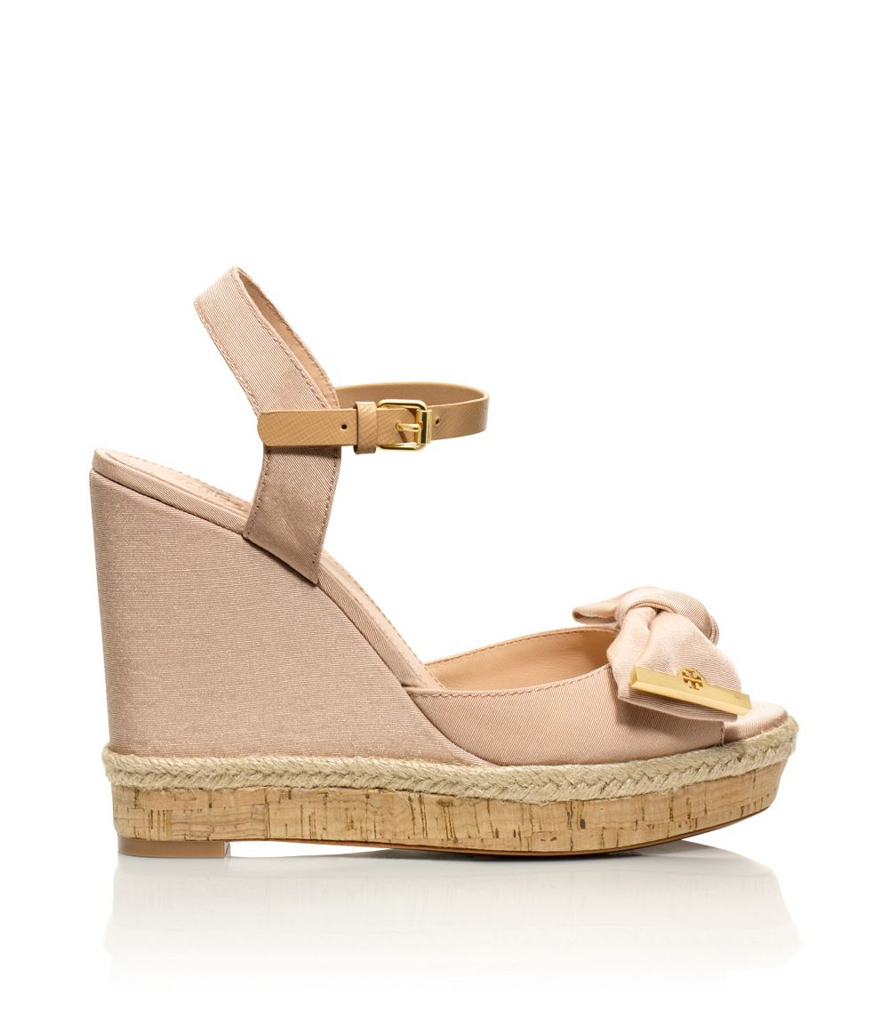 05201246ba1 Lyst - Tory Burch Penny Wedge Sandal in Pink
