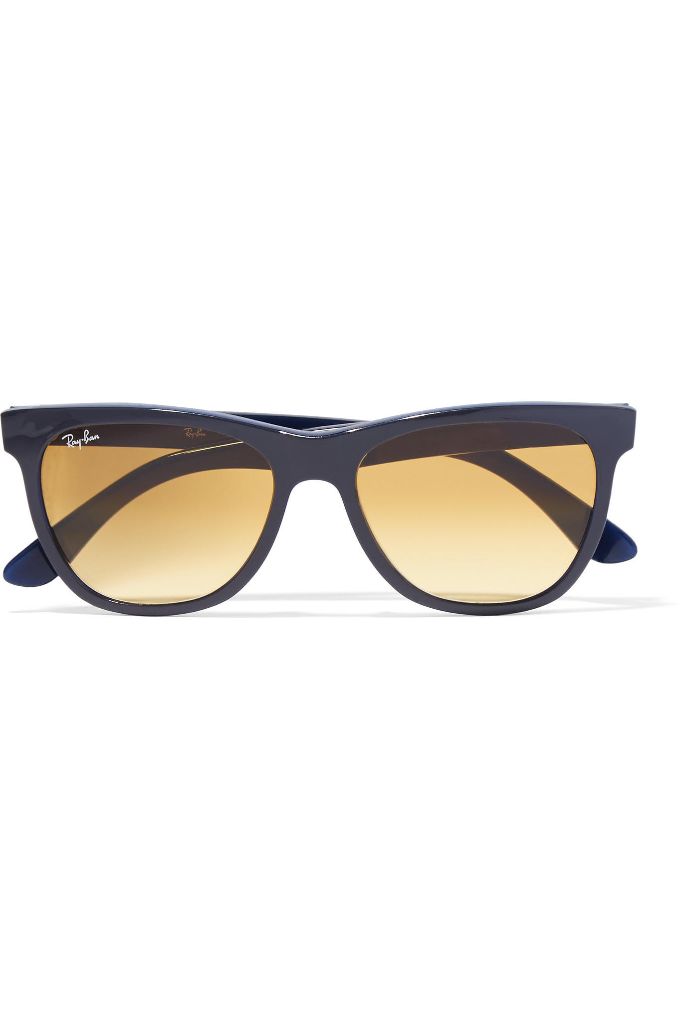 Ray-ban D-frame Acetate Sunglasses in Gray Lyst