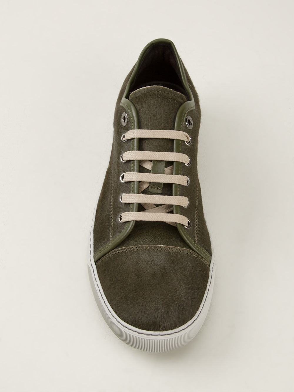 panelled sneakers - Green Lanvin