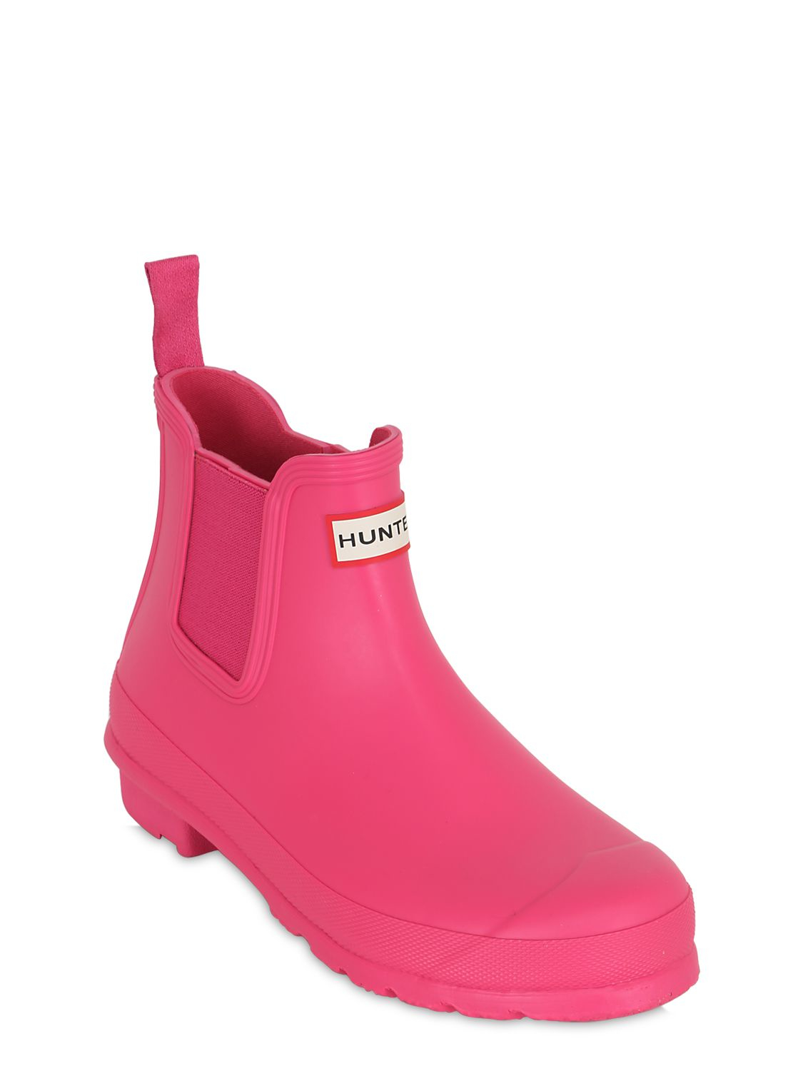 Hunter Original Chelsea Rubber Boots In Pink Lyst