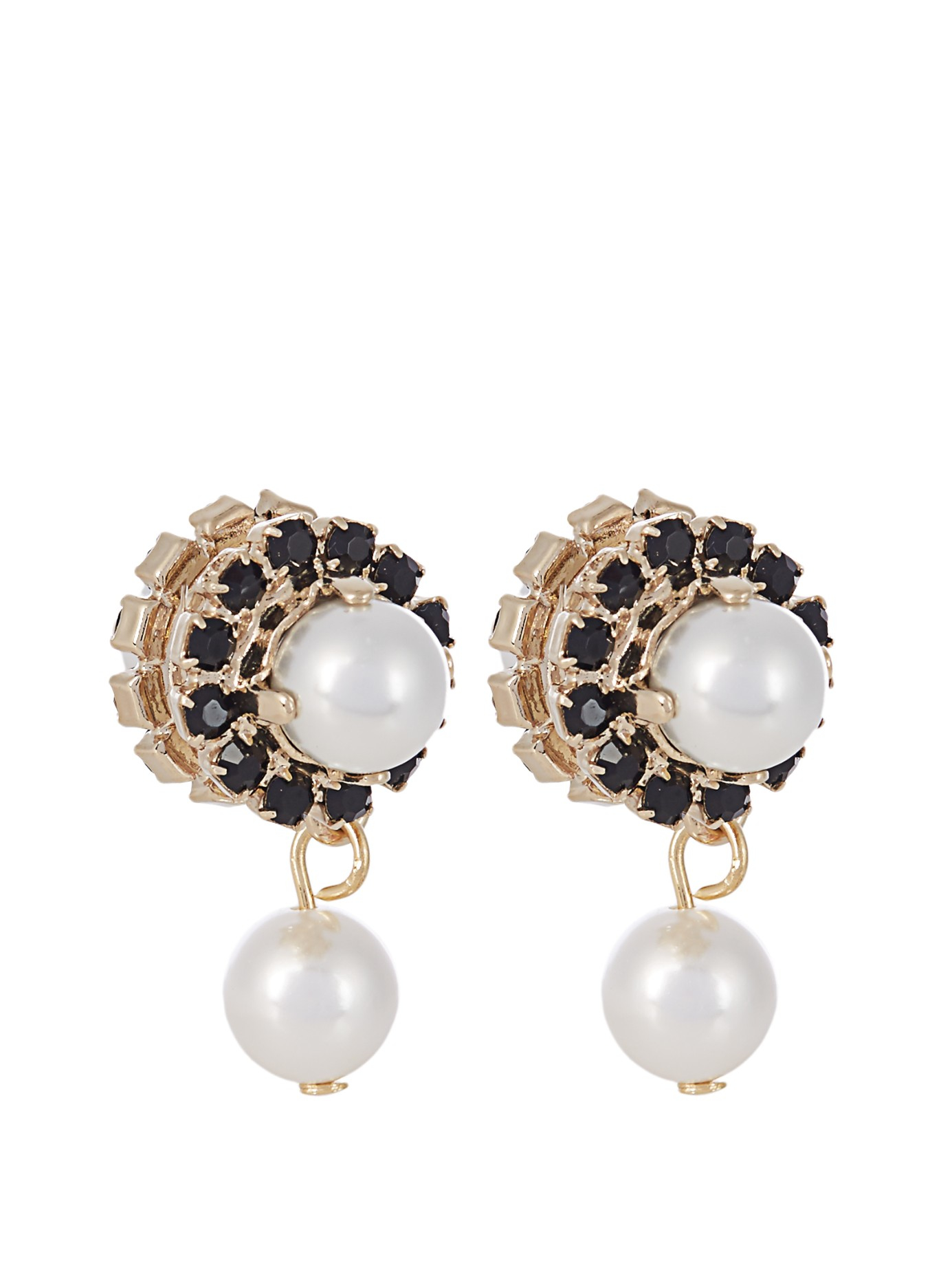 magnetic pearl earrings givenchy and pearl magnetic earrings in white lyst 9461