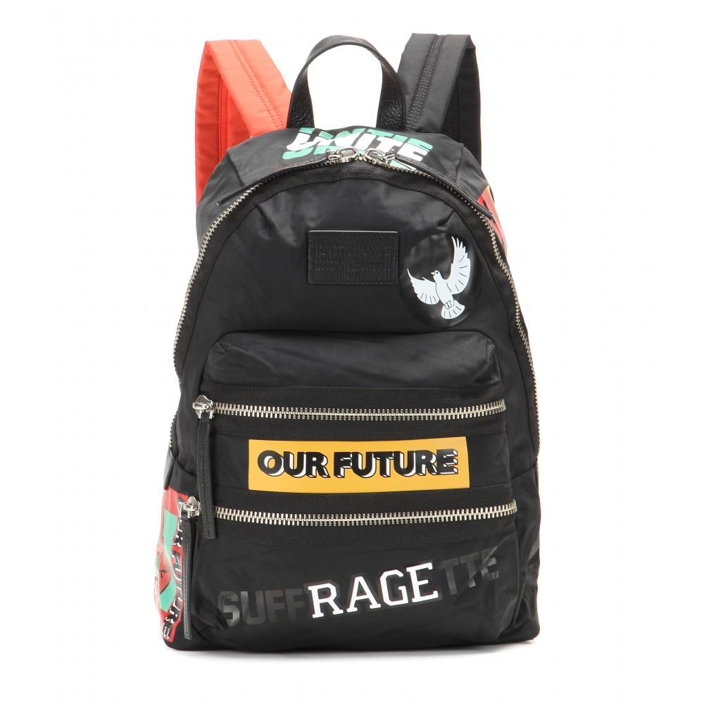 lyst marc by marc jacobs packrat backpack in black. Black Bedroom Furniture Sets. Home Design Ideas