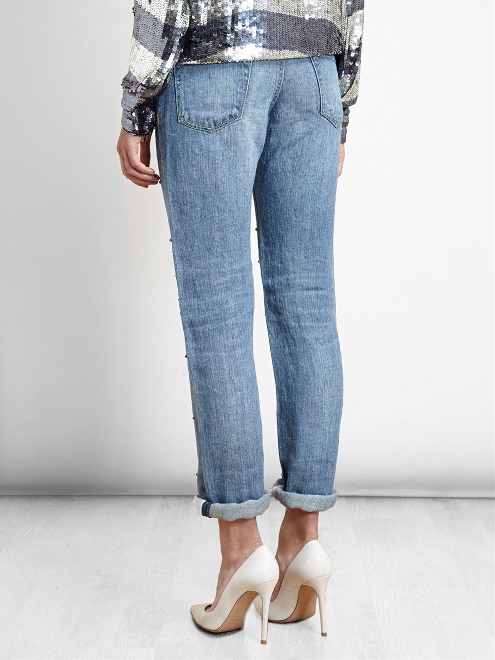 Black Crystal Jeans - Jeans Am