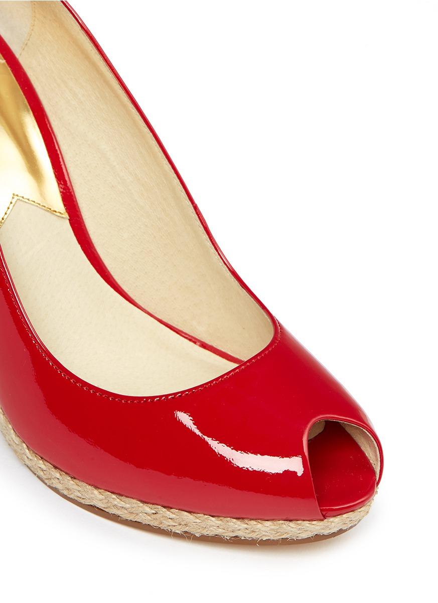 Lipstick Heel Shoes