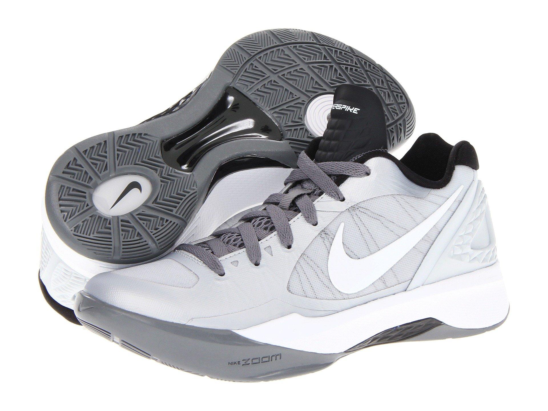 Nike Volley Zoom Hyperspike In Gray Lyst