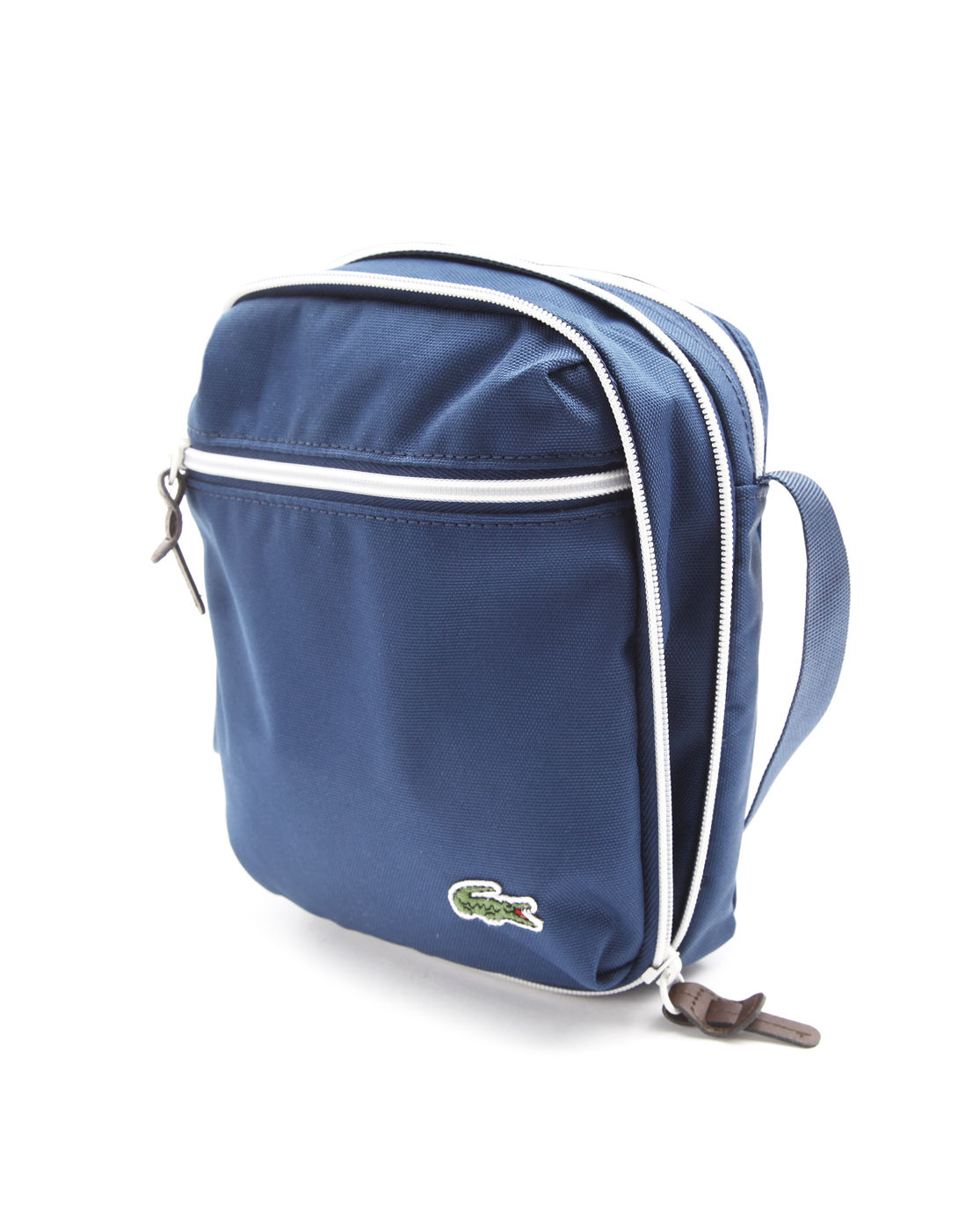 Lacoste Small Blue Polyester Bag in Blue for Men | Lyst