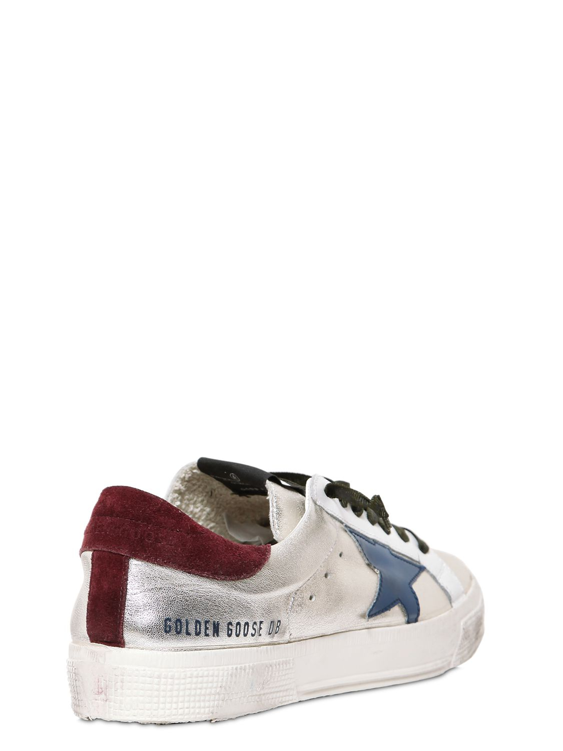 May sneakers - Metallic Golden Goose rLaZBZI