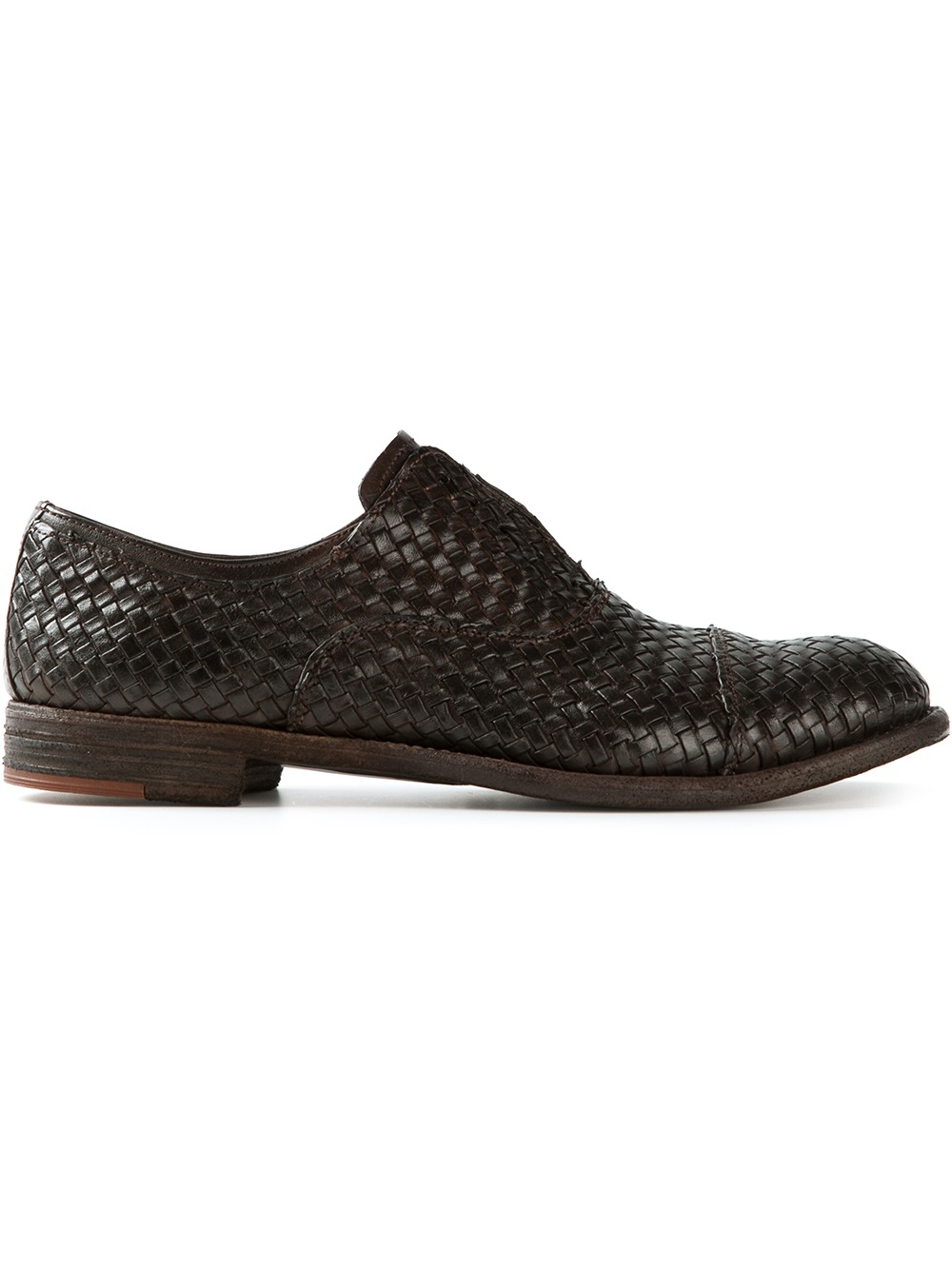 Really Online woven oxford shoes - Grey Officine Creative 100% Guaranteed For Sale Low Cost Cheap Price h40alprk