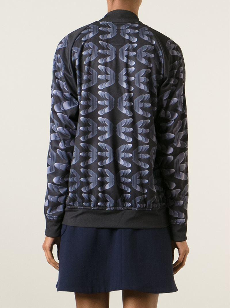 Adidas X Mary Katrantzou Marathon Tr Track Jacket In