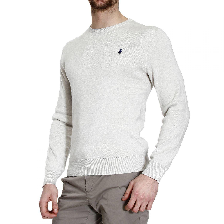 ralph lauren sweater knit crew neck pima cotton slim fit. Black Bedroom Furniture Sets. Home Design Ideas