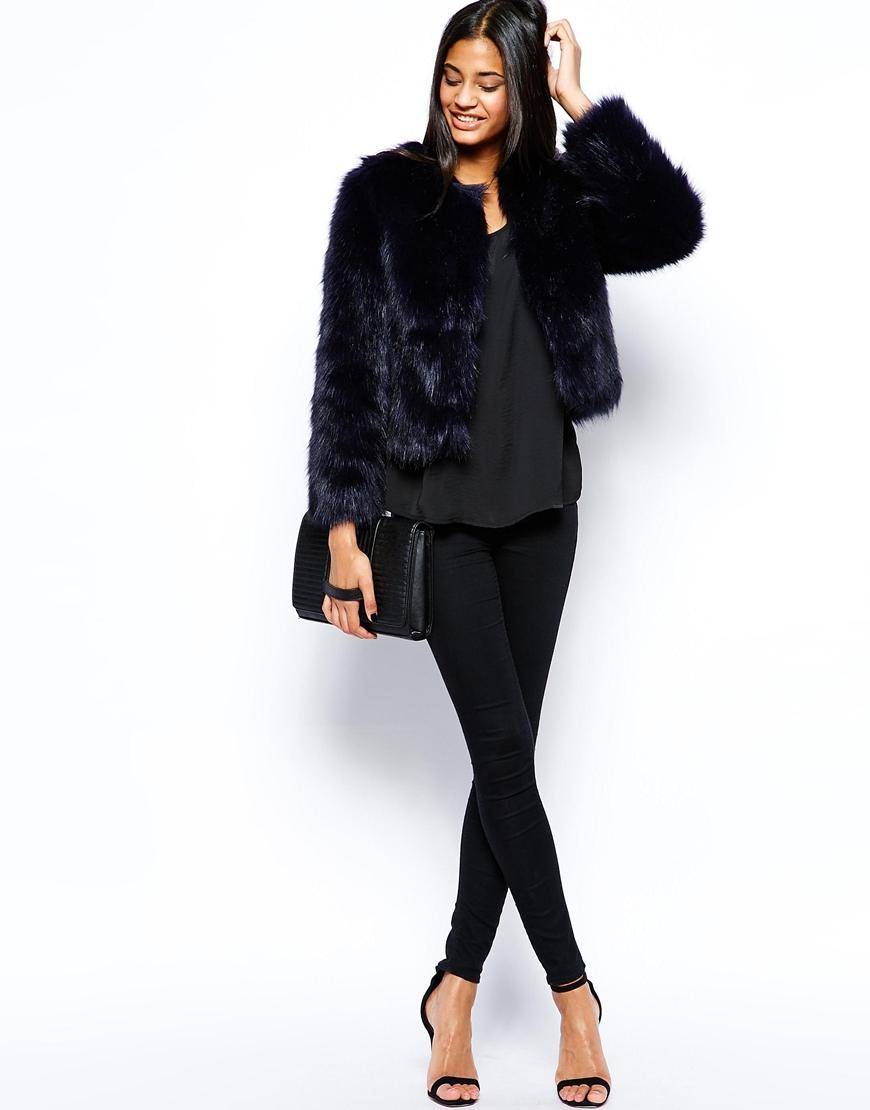 classic styles wholesale dealer nice shoes Michelle Keegan Loves Faux Fur Coat