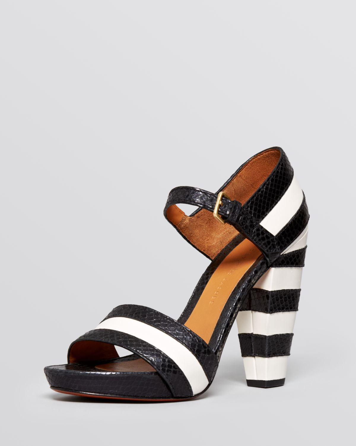 Marc by Marc Jacobs Patent Leather Slingback Sandals pay with visa for sale t4MRBKLFEQ