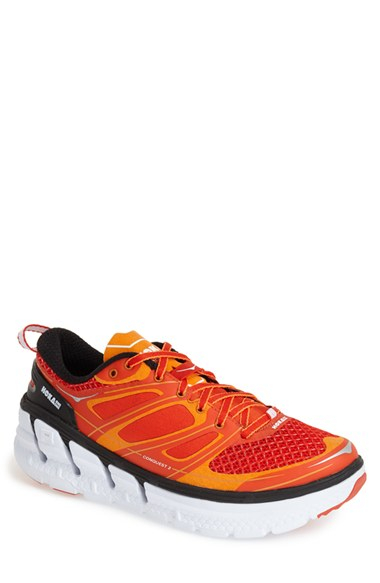 Hoka one one 'conquest 2' Running Shoe in Orange for Men ...