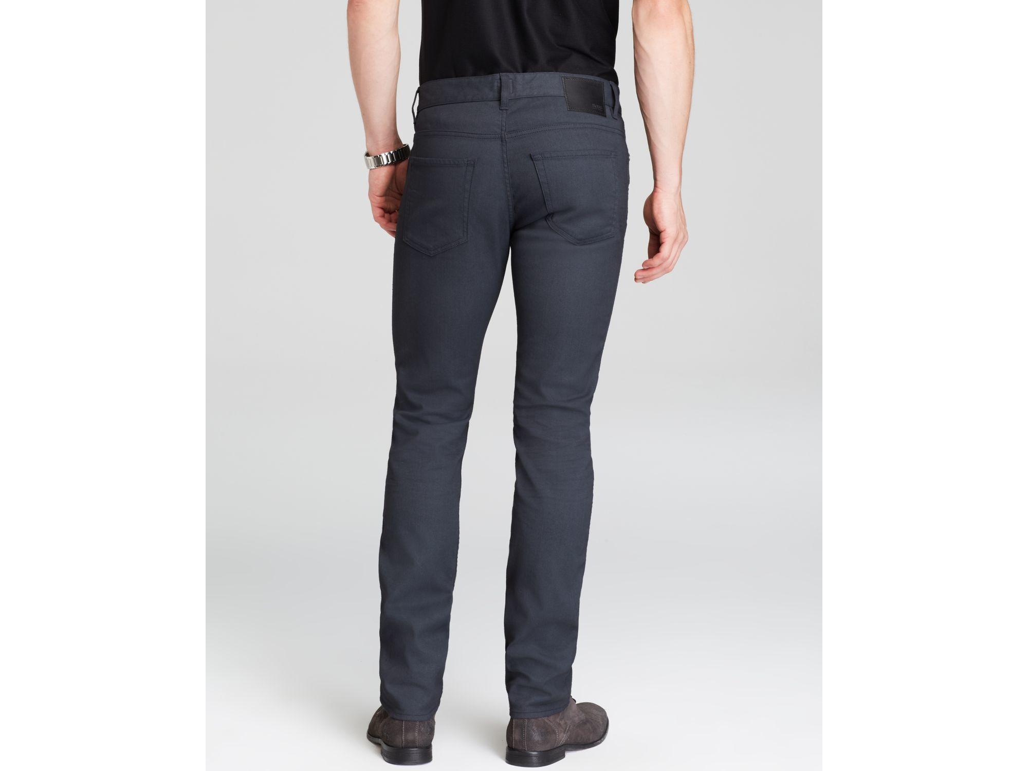 Janes BOSS Hugo Business-Hemd Slim Fit Navy Blue