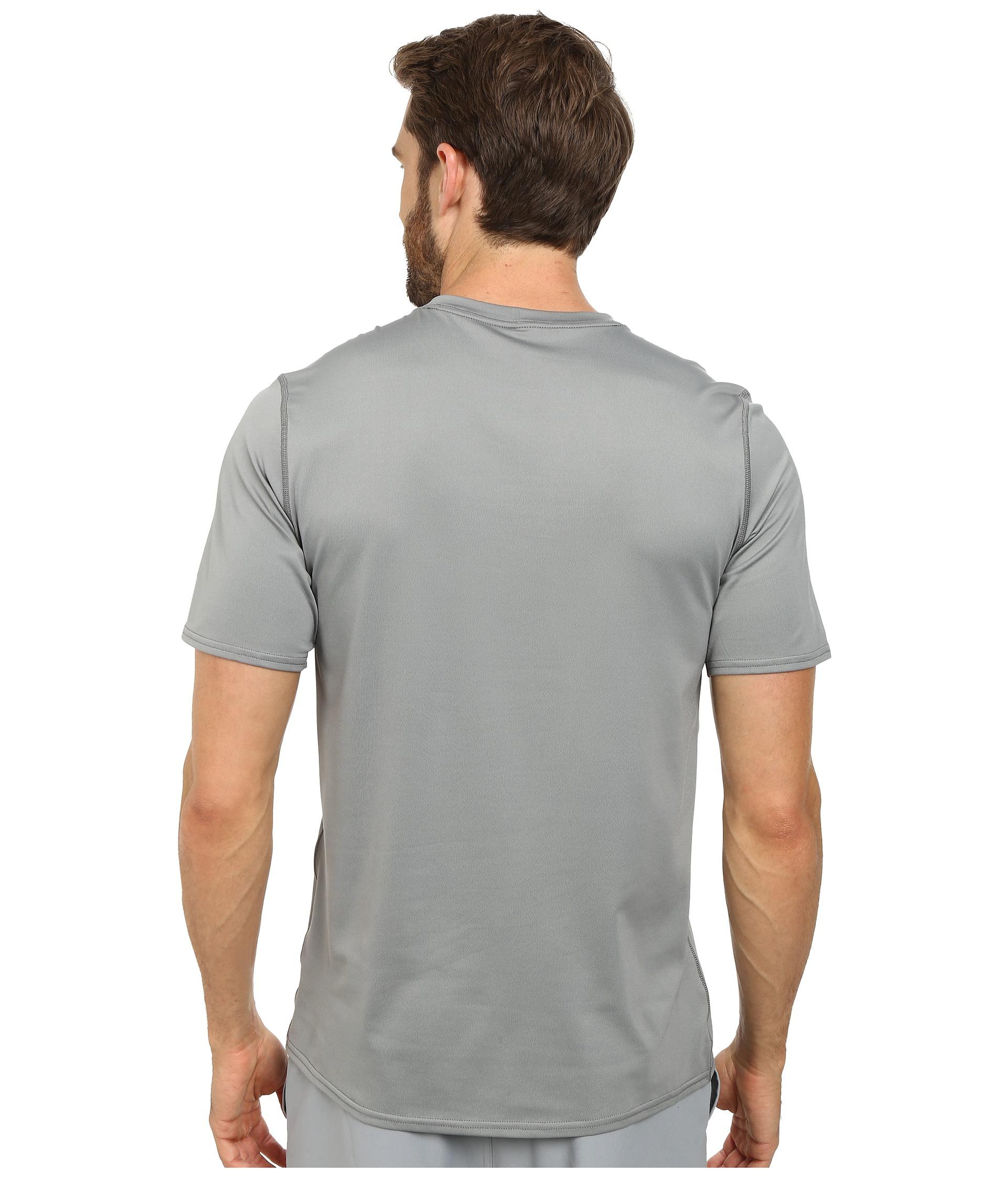 Patagonia R Sun Tee In Gray For Men Lyst